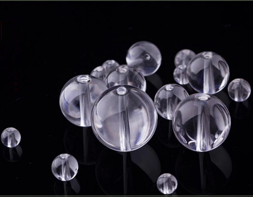 25mm(50pcs)clear crystal glass round hole loose beads ball home decoration  -  ZHEJIANG KINGSHARE CRYSTAL CRAFTS CO.,LIMITED store
