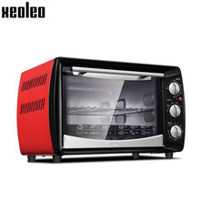 Buy Xeoleo Household Electric oven 20L Baking oven 120 Min timing Red Cake oven Baker machine Max 250 degree 1300W/220V 3Layers for $65.00 in AliExpress store