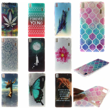 For Lenovo K3 Note Case Silicone A7000 IMD Painting Soft TPU Rubber Cover Thin Back Phone Cases For Lenovo A7000 K3 Note K50