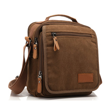 2016 New Men Canvas Bag Vintage Messenger Bag Brand Business Handbags Casual Travel Shoulder Bag Men Crossbody Bag Male Bolsa(China (Mainland))