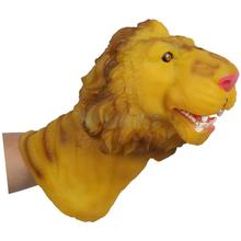 Lion Head Action Figure Hand Puppet Toy(China (Mainland))