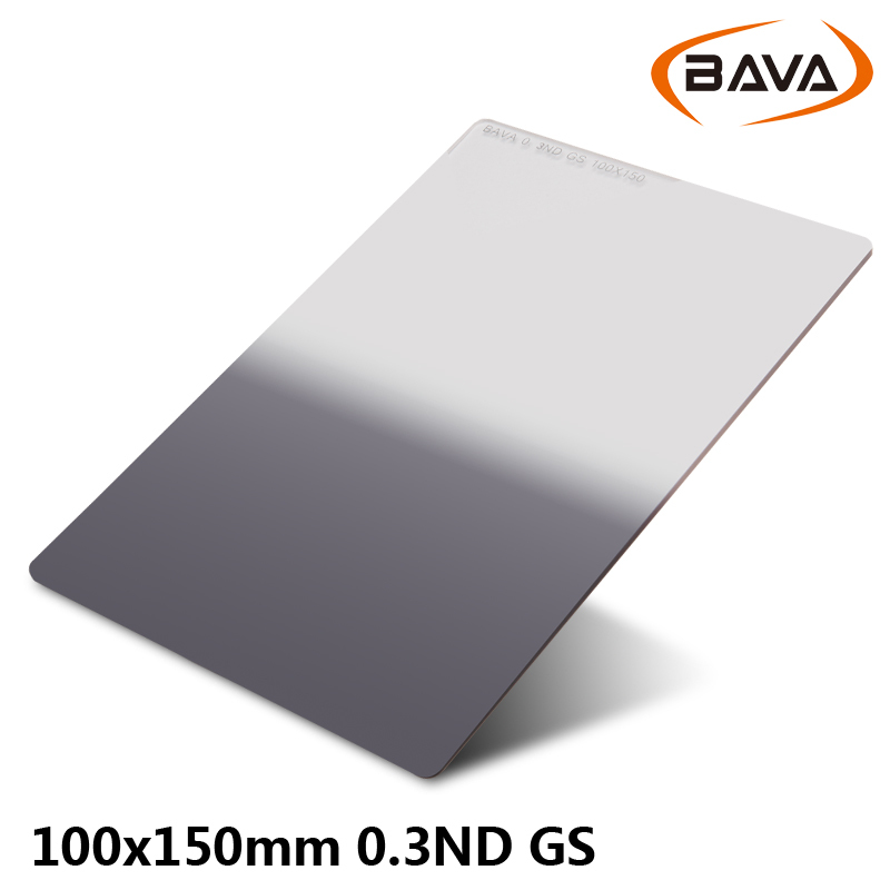 BAVA ND0.3 GS Soft Graduated Filter 100mm x 150mm filter system Compatible with Cokin P series free shipping(China (Mainland))