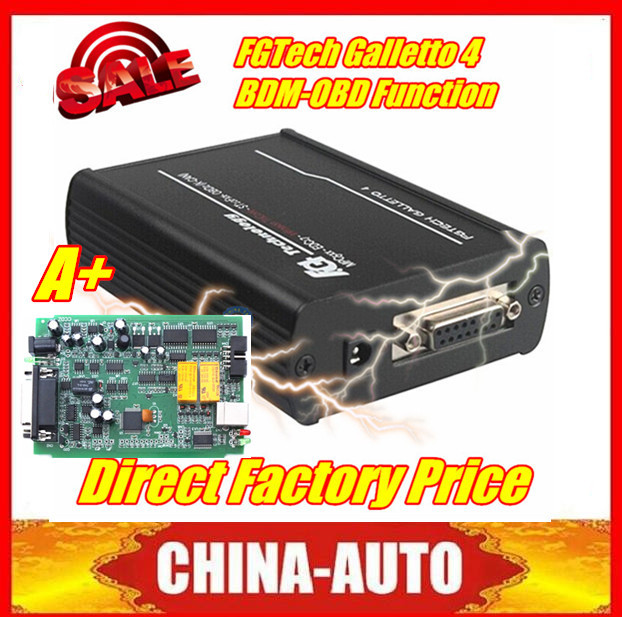 2015 Good Quality Latest Version FGTech V54 Galletto 4 Master Support BDM Fuction FG TECH Master OBD2 Chip Tuning Tool Free Ship(China (Mainland))
