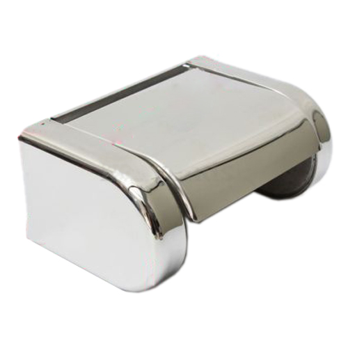 LHLL-Polished Chrome Stainless Steel Bathroom Toilet Paper Tissue Box Holder New(China (Mainland))