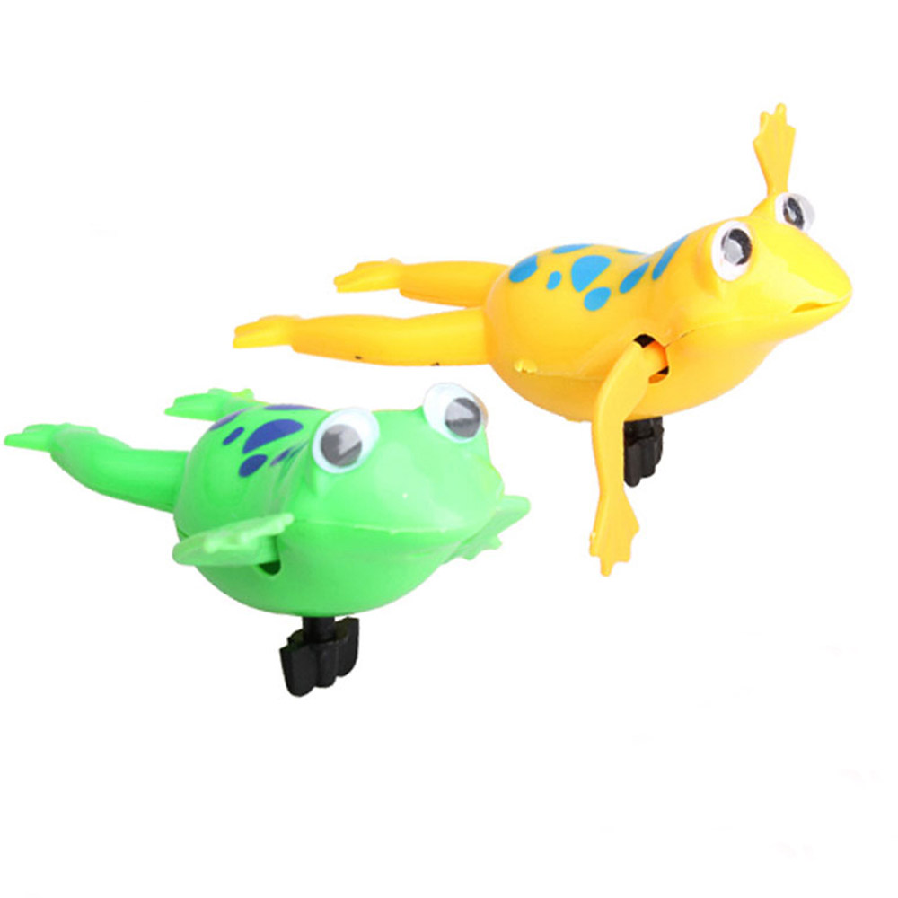 Swimming Frog Battery Operated Pool Cute Bath Toys Wind Up Swim Frogs Kids Toy In Bath Toy From