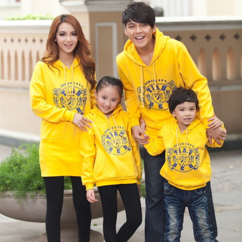 Family fashion 2013 spring and autumn family set mother and son family pack sweatshirt outerwear