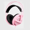Pink Color Headset Steelseries Siberia V2 Brand Noise Isolating Game Headphones For Headphone Gamer Fast Shipping