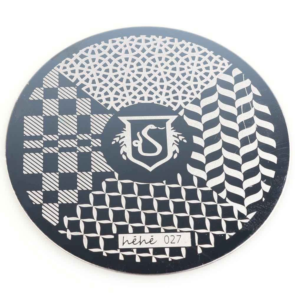 Tread design serpentine pattern nail plate nail art stamping image template(China (Mainland))