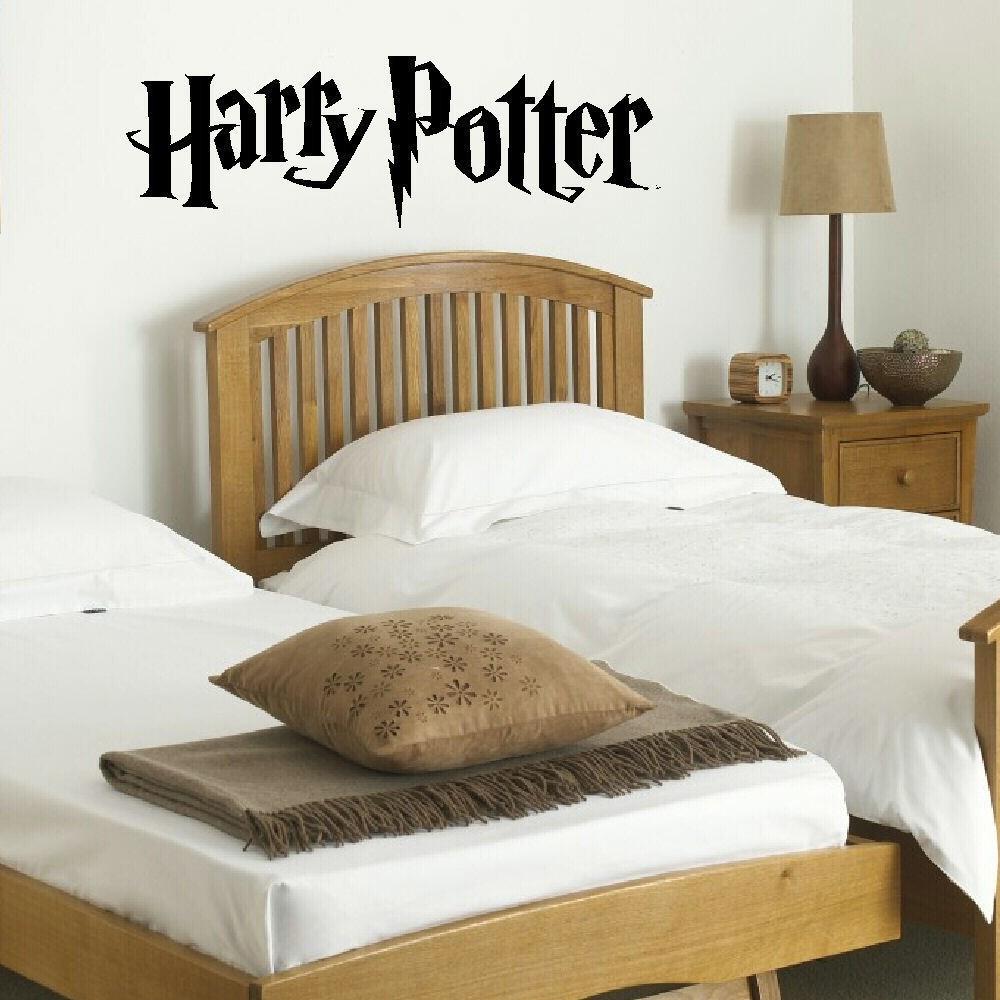 HARRY POTTER WALL MURAL GIANT ART STICKER MATT VINYL DECAL WALL STICKERS  WALLPAPER KITCHEN BEDROOM. Harry Potter Bedroom Wallpaper
