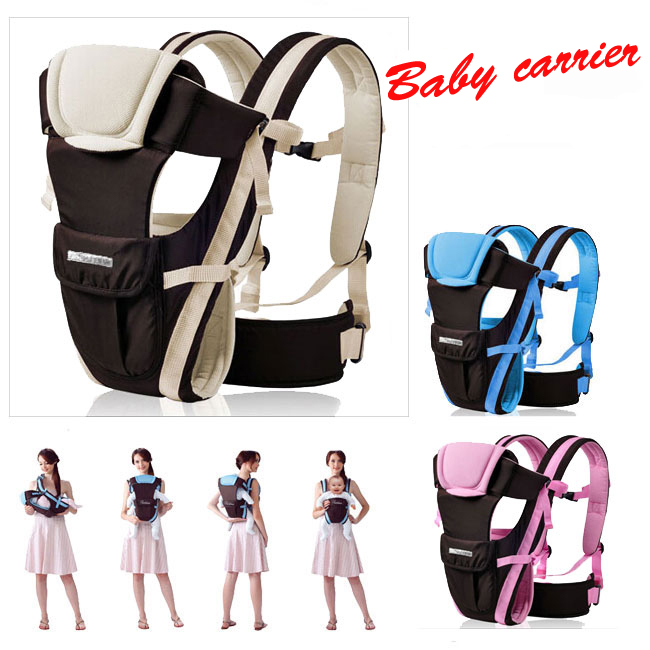 0-30 Months Breathable Multifunction Cotton Carrier Wrap Infant Comfortable Sling Backpack Pouch Wrap Baby Kangaroo slings(China (Mainland))