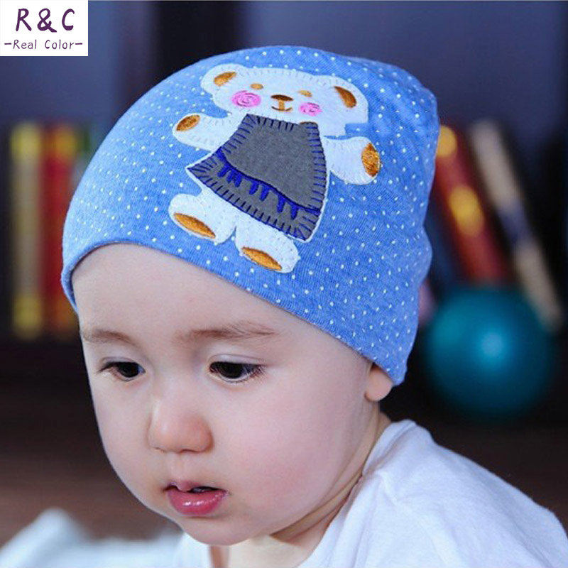 2015 beanie baby hat kids baby photo props,19 colors lovely animal pattern skull elastic hat gorros bebes cap for 0-3 years old(China (Mainland))