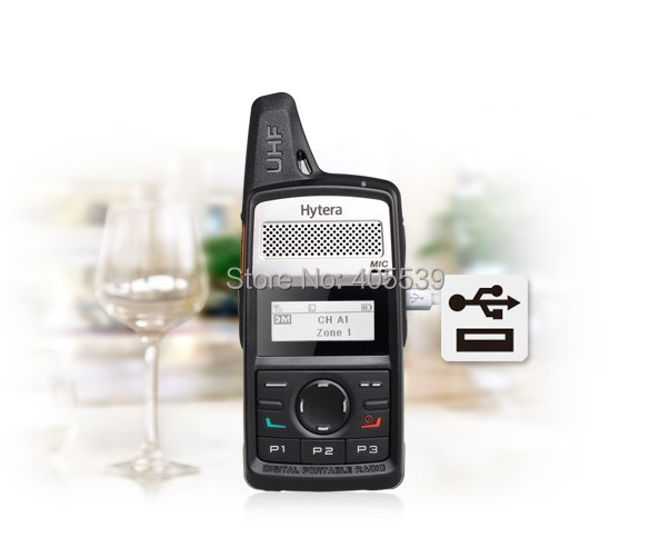 2014 Newest version HYT DMR digital walkie talkie Hytera PD-360 UHF: 400-440MHz FM handheld transceiver PD360 PD368(China (Mainland))