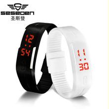 Buy digital watch led watch men relogio masculino relogio feminino erkek kol saati women watches sport men watch clock montre homme for $2.01 in AliExpress store