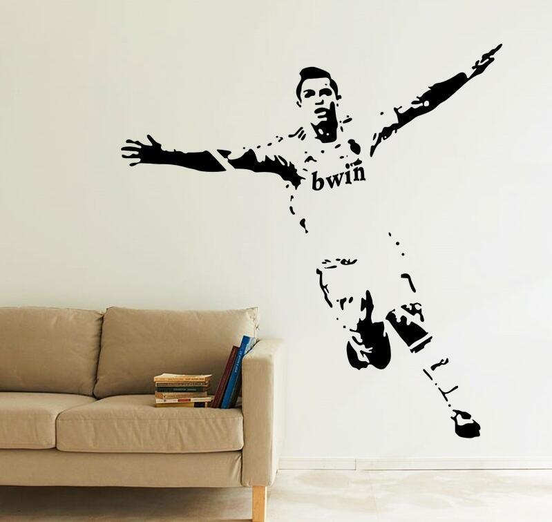 Cristiano ronaldo goal celebration footballer stars sport for Cristiano ronaldo wall mural