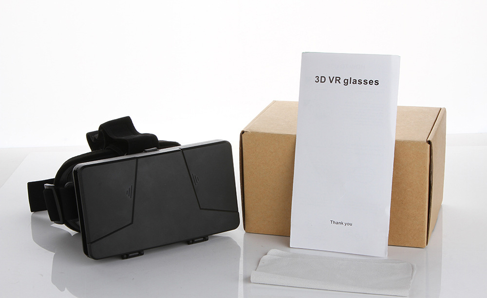 Polarized 3D Glasses for 3 6 Screen Google VR Google Cardboard VR Box Virtual Reality Helmet