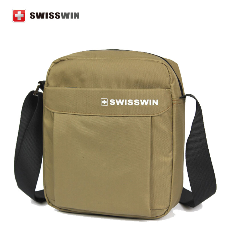 Swisswin men messenger bags casual outdoor travel hiking sport canvas swissgear wenger male small military shoulder bag sw5052v(China (Mainland))