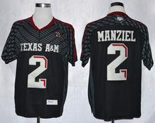 100% Stitiched,Texas A&M Aggies,Johnny Manziel,VON MILLER,Ricky Seals Jones(China (Mainland))