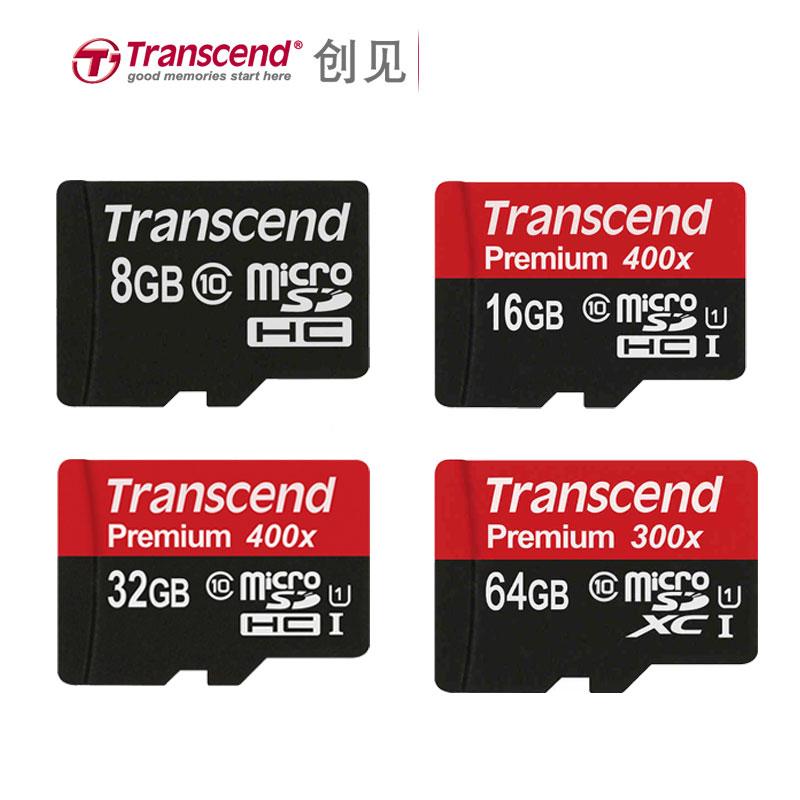 Original Transcend Micro sd Card Micro SD SDXC 64GB UHS-I SDHC 32GB 16GB 8GB Class10 TF Card Cartao Micro SD(China (Mainland))