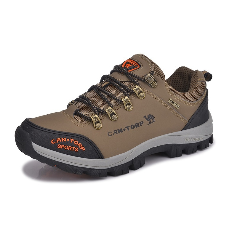 2014 The new male outdoor shoes waterproof breathable Camel hiking shoes to help low slip  resistant Climbing shoes B132