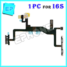 Retail brand new mobile phone spare part for apple iphone 6s 4.7 inch power on off flex cable replacement