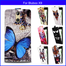 Fashion Patterns Cartoon Luxury Flip PU Leather Case Bluboo X9,Free gift - Shenzhen Soncas technology co., LTD store