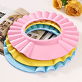 free shipping Soft Baby Children Shampoo Bath Bathing Shower Cap Hat Wash Hair Shield