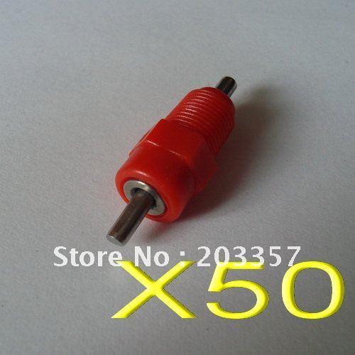 X50 screw red poultry chicken bird quial nipple drinker waterer ball seal - SHANGHAI LUSEN Mechanical Equipment Co., Ltd. store