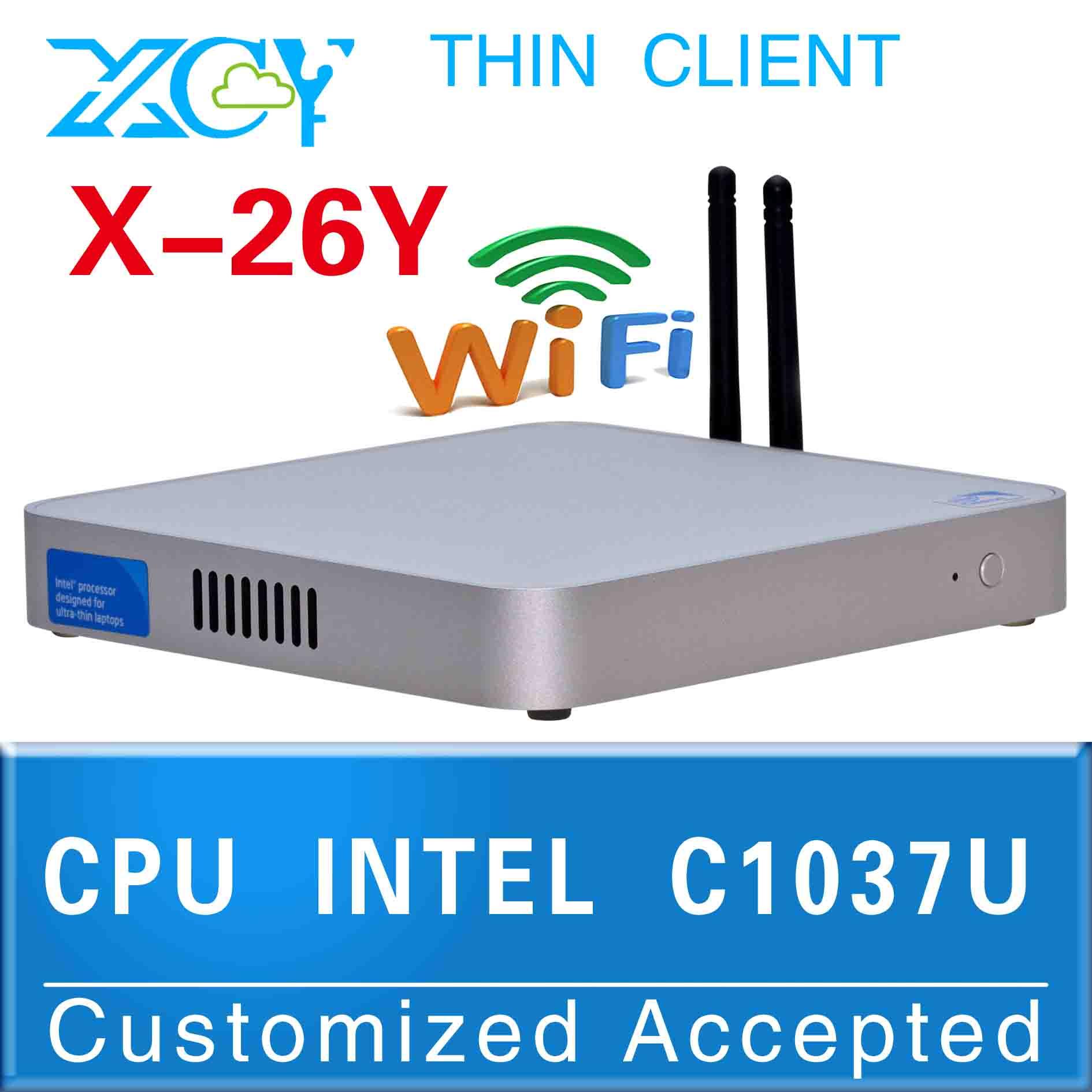 ULP INTEL C1037U X-26Y slim mini itx case atx computer case Mini itx pc cases support video videoconference(China (Mainland))