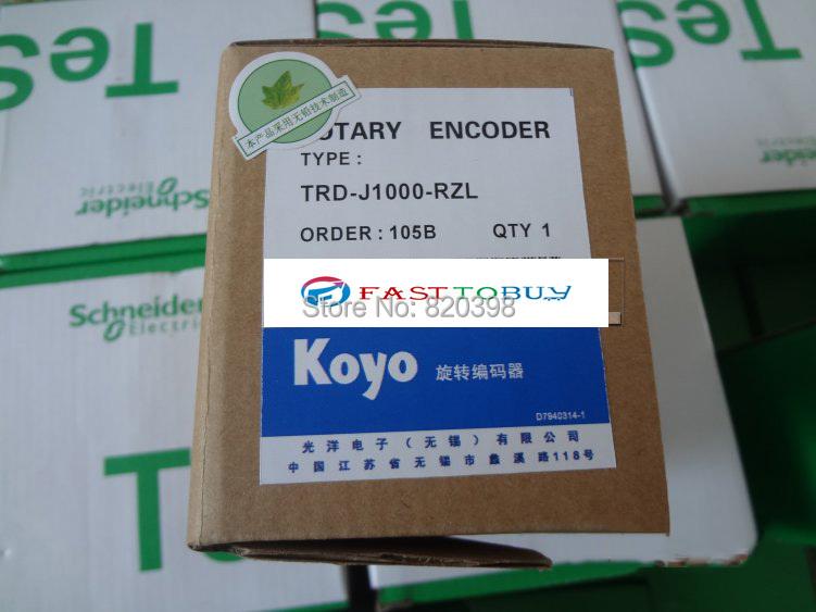 TRD-J100-RZL KOYO Rotary Encoder 4.75~30VDC New