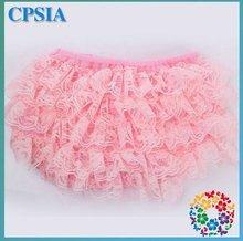 Stylish Infant Bloomer light Pink Diaper Cover Toddler Underwear Organic Baby Girl's Underwear - 24pcs/lot(China (Mainland))