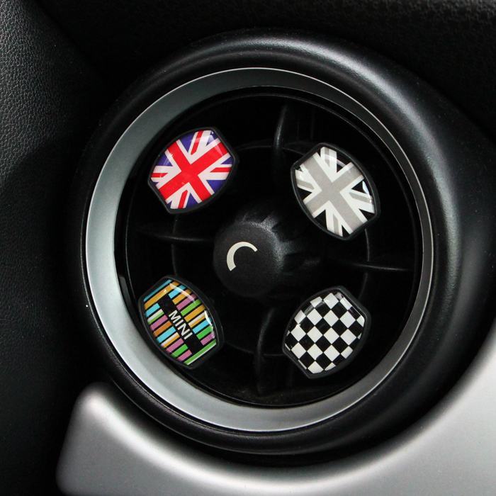 unique Union Jack pattern Febreze car styling internal accessory Perfume air freshener vent clip(China (Mainland))