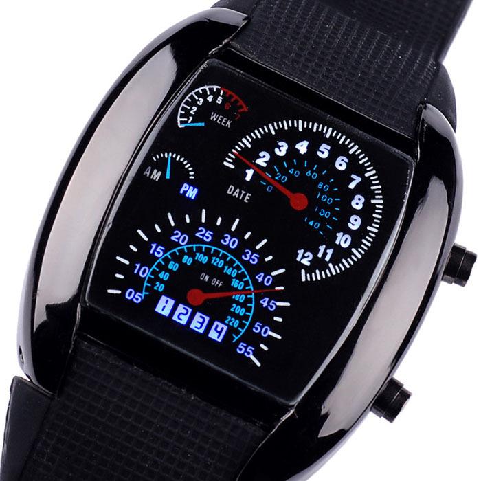 Гаджет  Fashion Ultra-thin Touch Children Electronic Wristwatches Women Relgio Watch Bracelet Waterproof Men Digital LED Sport Watches None Часы
