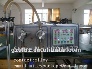 SF-1-2 manual bottled filler machine supplier(M)
