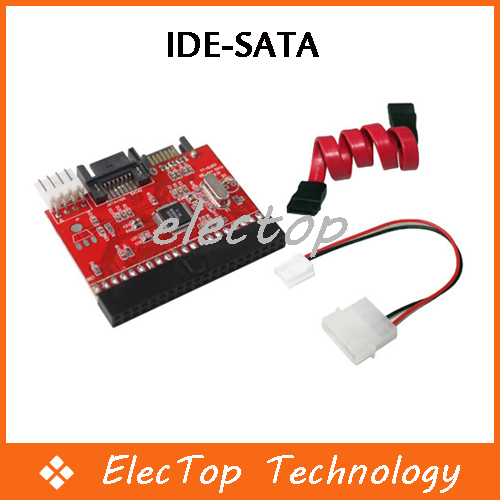 IDE TO SATA  HDD CD DVD Converter Adapter Cable 200pcs/lot Wholesale