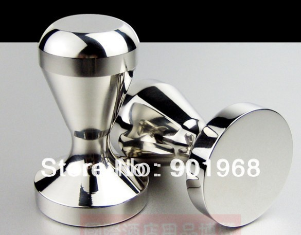 [Free shipping]Dia51mm stainless steel coffee tampers-coffee tool-espresso tool
