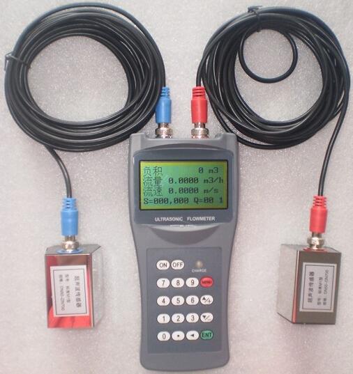Handheld Water Meter Pump : Handheld ultrasonic flow meter flowmeter water