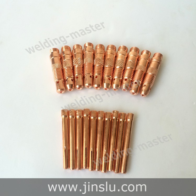 Free Shipping WP SR 17 18 26 Series TIG Welding Torch Consumables Accessories Tungsten Collet 1.6mm & Collet Body 1.6mm 20PCS(China (Mainland))