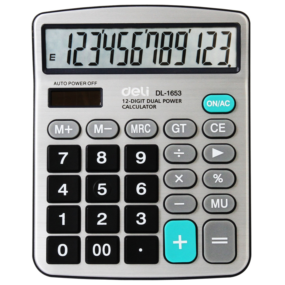 Effective 1653 calculator solar energy calculator capable of 12 computer authentic 178*144*39mm(China (Mainland))