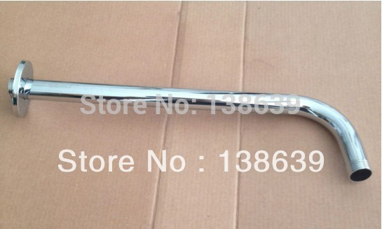 stainless steel 22*300mm shower head arm wall-installed arm,bathroom accessories - Maia Sanitary store