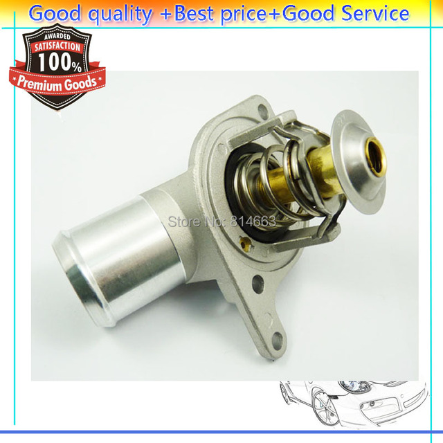 Engine Coolant Thermostat Water Outlet Assembly 12T84D  For Chevrolet  Silverado  Express 1997-2006  (JWQCV001) 12T84D