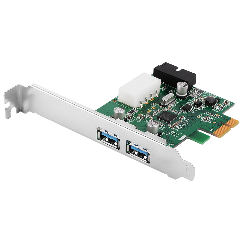 3 Port PCI-E PCI Express 2.0 to USB 3.0 Hub