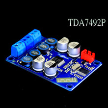 Buy TDA7492P Bluetooth Amplifier Board Digital Stereo Audio Bluetooth Receiver 2*25W AUX Input for $15.00 in AliExpress store