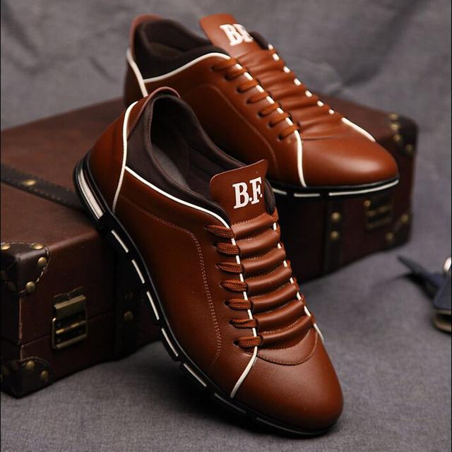 Осенью 2016 года новой англии мужская ретро-тенденции мужской обуви свободного покроя ...