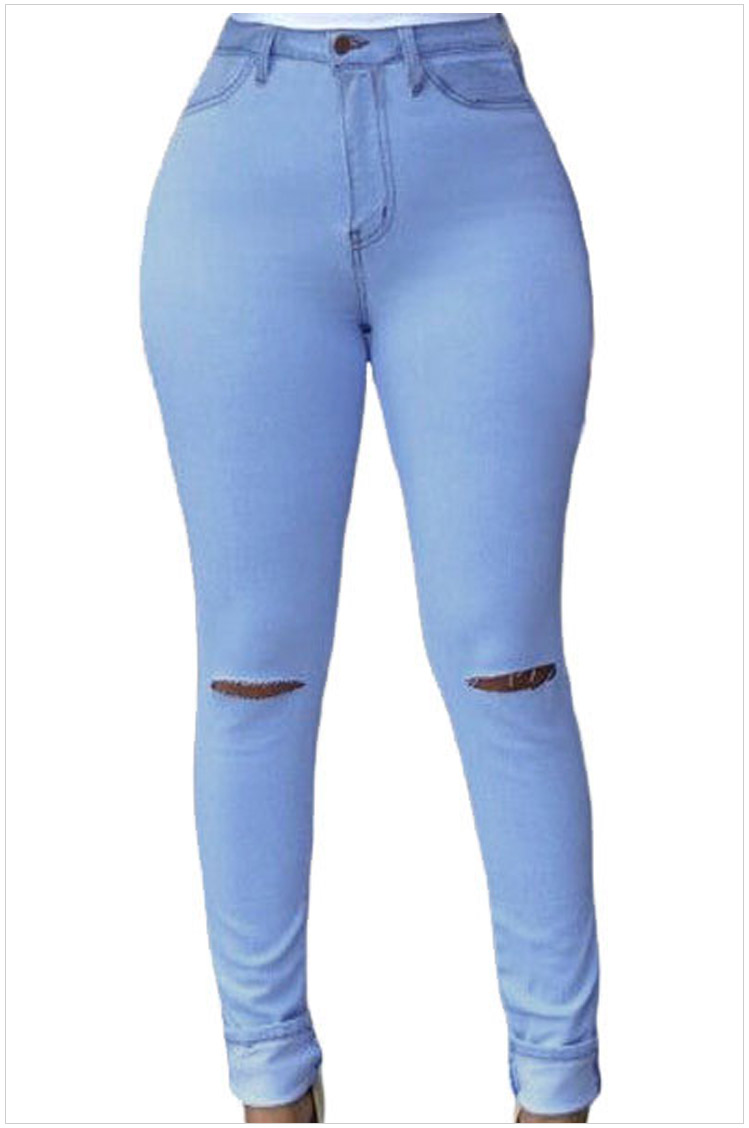 Jean femme : jean enduit, jegging, taille haute Promod