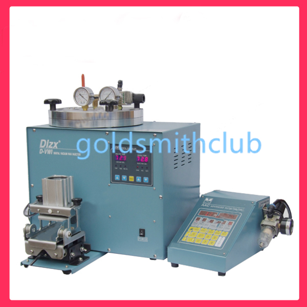 digital vacuum wax injector wax machine with clamp and