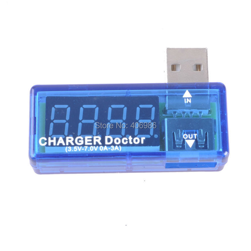 USB Mini Charger Doctor Current Test Tool Voltage Test Tool Amp Volt Reader Mobile Power Tester FZ0685(China (Mainland))