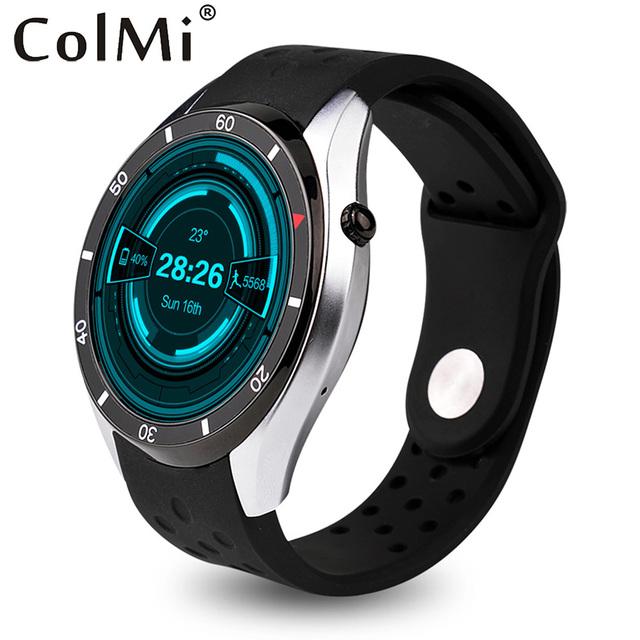 ColMi Smart Watch VS110 OS Android 5.1 3 Г WI-FI GPS Heart Rate Monitor Google Играть Погоды Нажмите Сообщение Телефонный Звонок Умный Часы