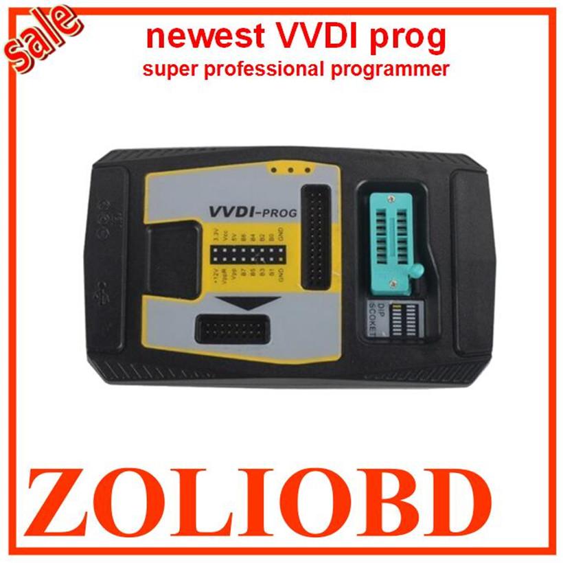 2017 original Xhorse VVDI prog professional program tool VVDI at lowest price VVDI with high speed USB interface DHL free(China (Mainland))