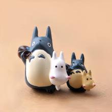 Miyazaki Toshikuriko blue Totoro micro landscape gardening ornaments flower pot