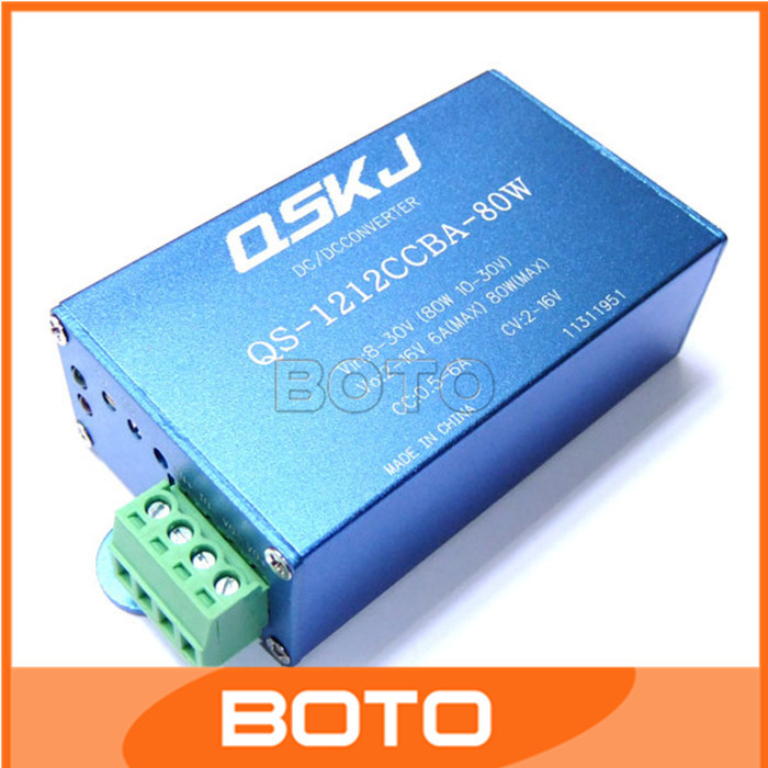 100 PCS/LOT Auto Boost Buck Converter 8-30V to 2-16V Converter Constant Current Constant Voltage Car Power Supply Module#200409(China (Mainland))